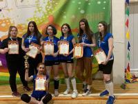 Районные соревнования по волейболу среди женских команд общеобразовательных учреждений