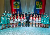 Торжественная церемония официального вступления в должность избранного главы Чунского муниципального образования